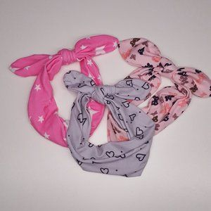 Headband Headwrap Bow Hair Accessory Set